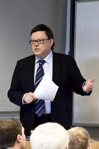 Timo Summa, sendiherra ESB á Íslandi.