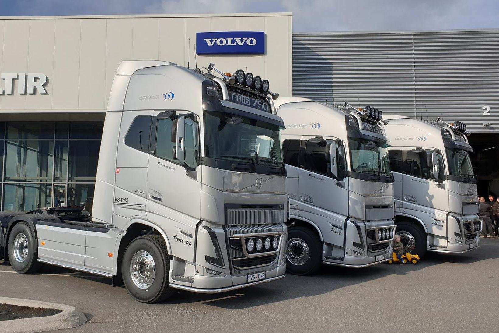 Volvo FH16 vörubílar.