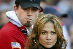 Ben Affleck og Jennifer Lopez árið 2003.