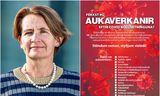 Rúna Hauksdóttir Hvannberg, forstjóri Lyfjastofnunar, segir að stofnunin standi ekki á bak við auglýsingu, sem …