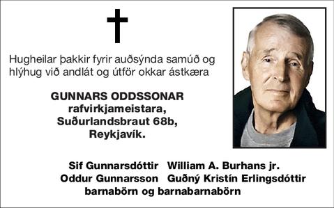 Gunnars Oddssonar