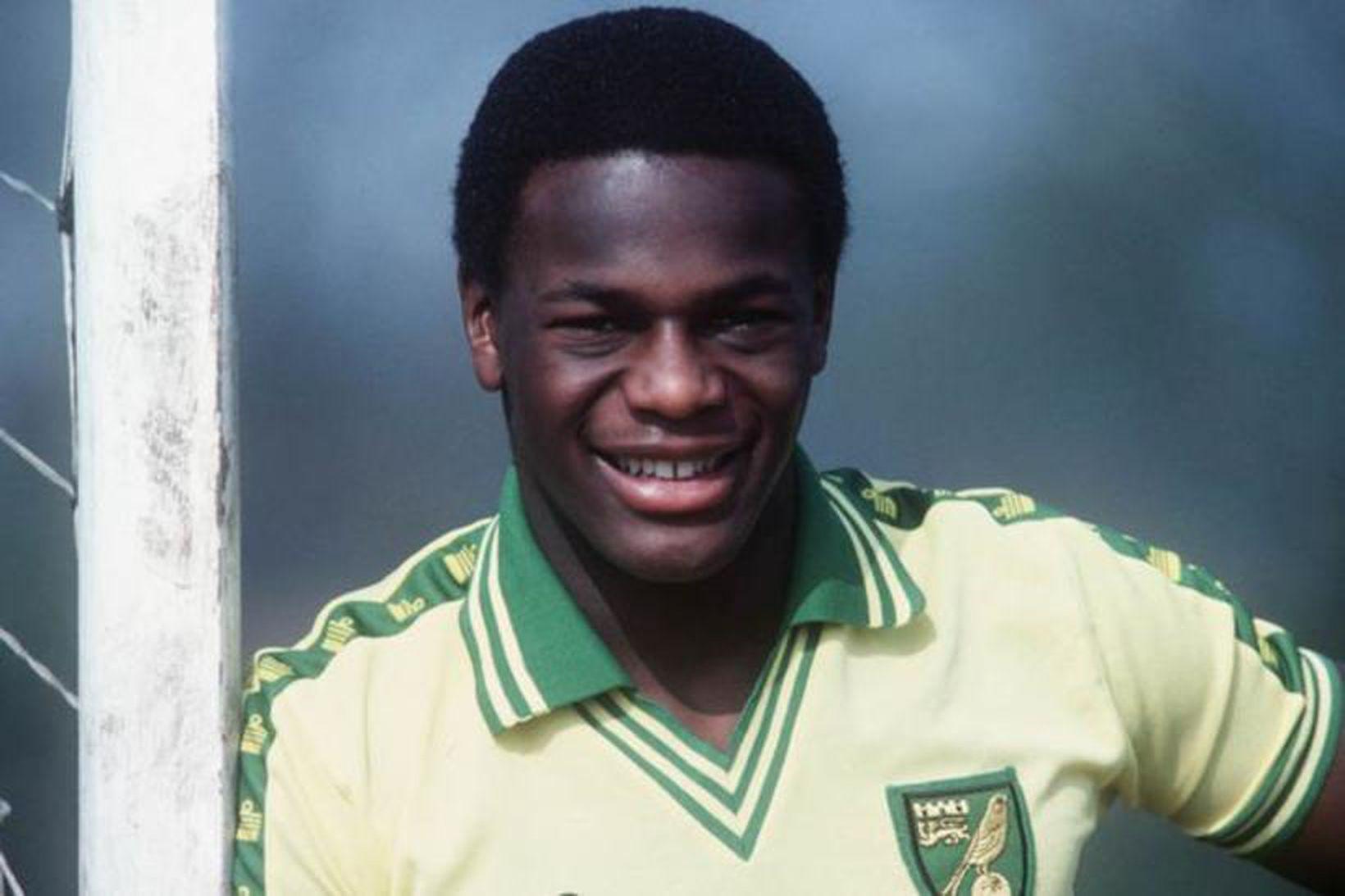 Justin Fashanu sló í gegn með Norwich á sínum tíma …