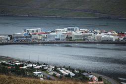 Jarðskjálftinn fannst alla leið inn á Ísafjörð.