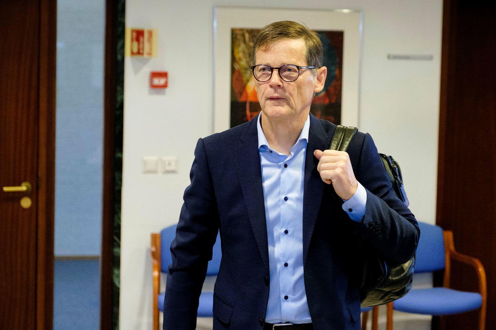 Þorsteinn Már Baldvinsson.