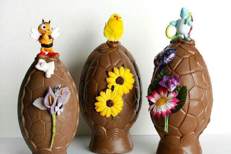 Icelandic Easter eggs are available at all supermarkets.