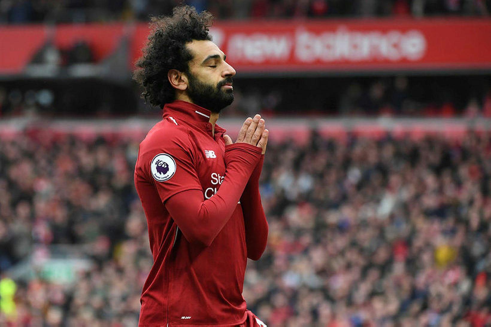 Mo Salah vill yfirgefa Liverpool að sögn AS.
