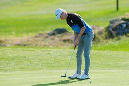 Guðmundur Ágúst Kristjánsson, Íslandsmeistari í golfi.