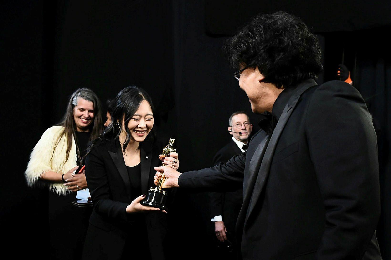 Sharon Choi, túlkur suðurkóreska leikstjórans Bong Joon-ho, stefnir á frama …