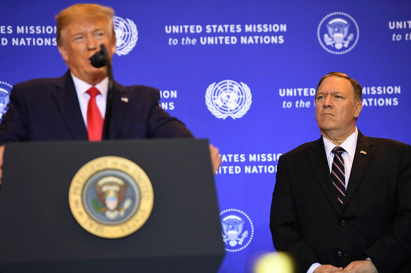 Donald Trump Bandaríkjaforseti sakar demókrata um valdarán vegna framgöngu þeirra …