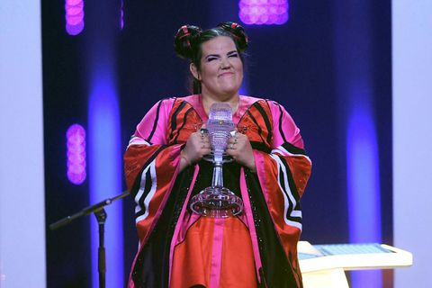 Netta from Ísrael drew some comparisons to the Icelandic Björk, at least for her hair and outfit. Many Icelanders are outraged at the win.