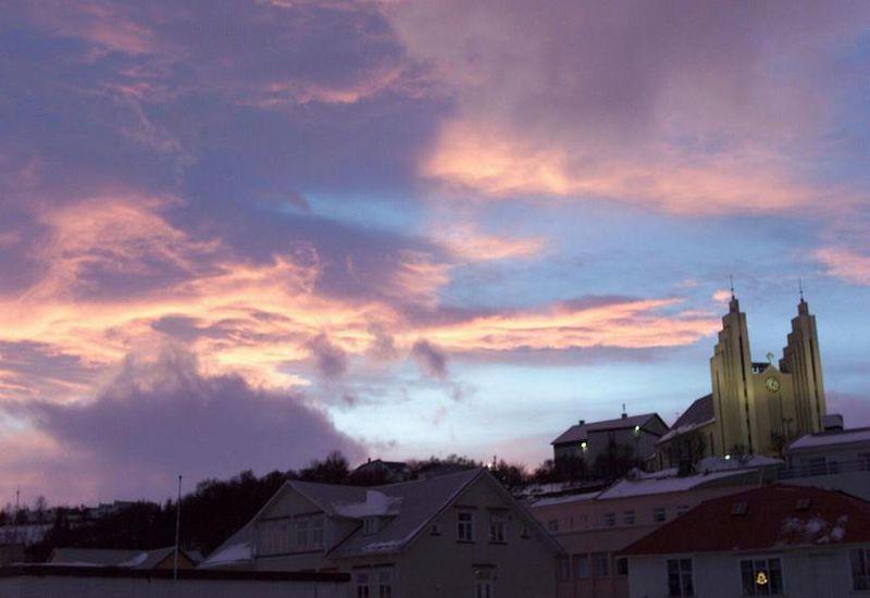 Akureyrarkirkja Church is one if Akureyri's most distinct landmarks.