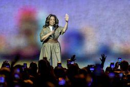 Oprah Winfrey segir ekkert til í þeim sögusögnum að hún hafi hvatt Harry og Meghan …