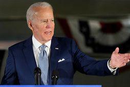 Sigurganga Joe Biden, fyrrverandi varaforseti Bandaríkjanna, í forkosningum Demókrataflokksins heldur áfram.