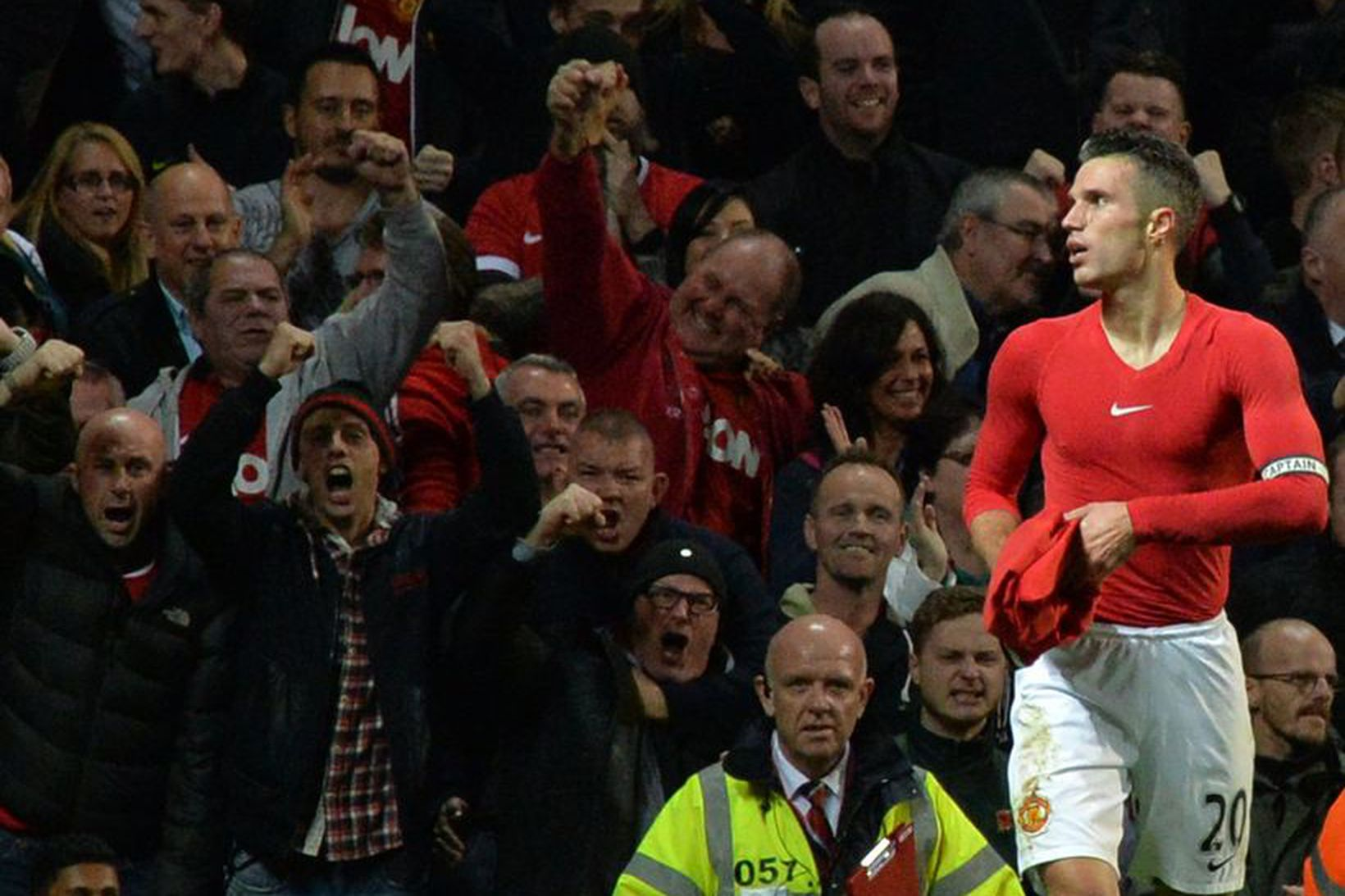 Félagaskipti Robin van Persie frá Arsenal til Manchester United árið …