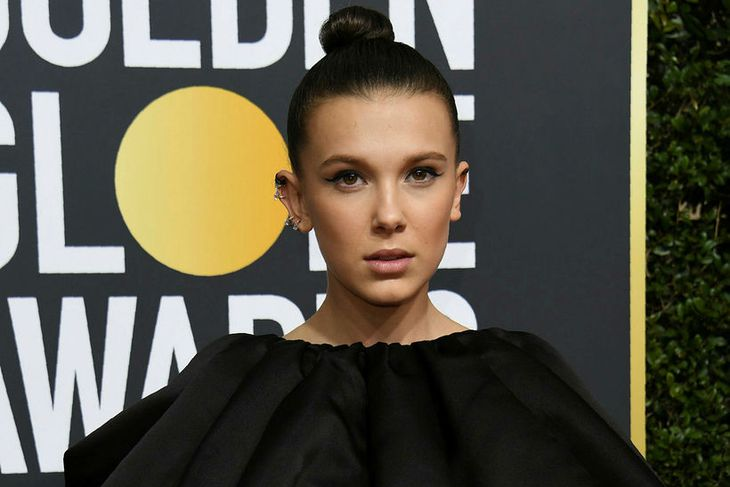 Millie Bobby Brown sló í gegn í Stanger Things.