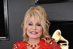 Dolly Parton á engin börn en heldur jólapartí fyrir öll börnin í fjölskyldunni.