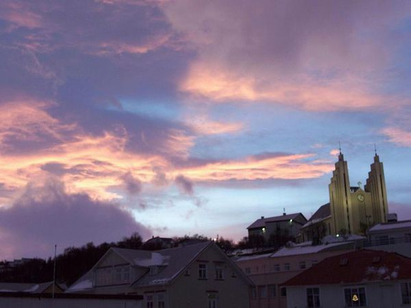 Akureyrarkirkja Church is one if Akureyri's most distinct landmarks.
