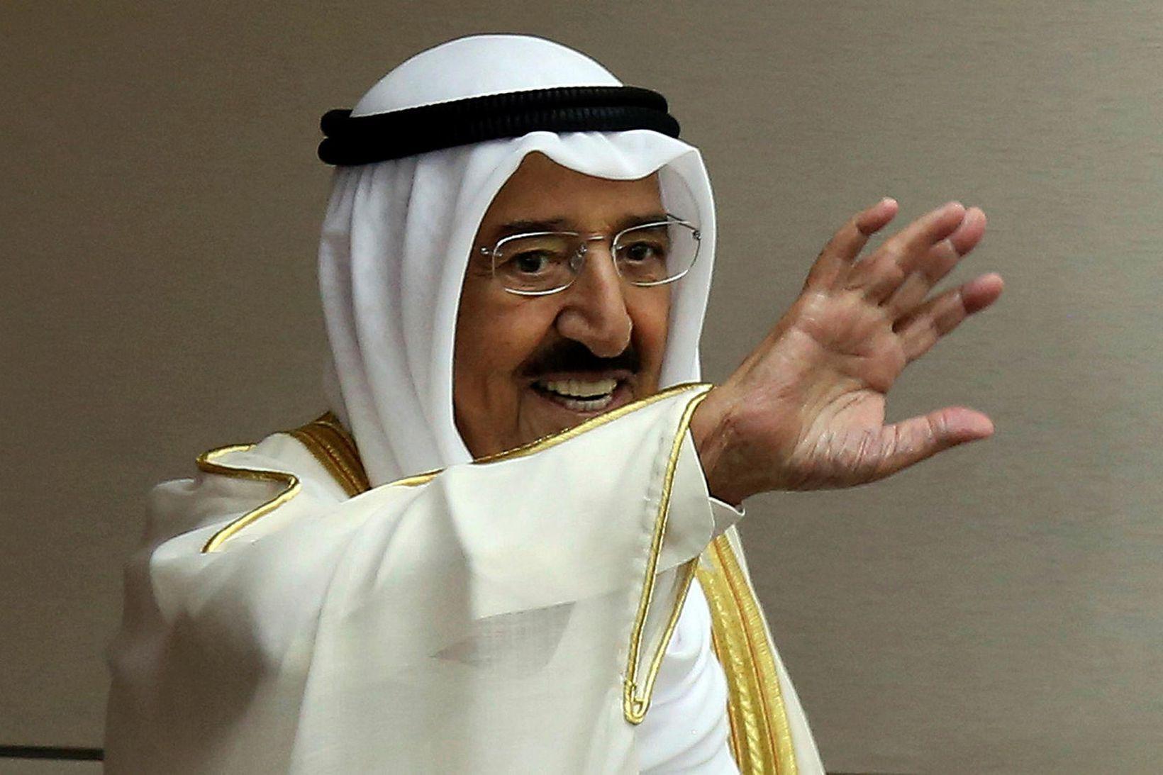 Sjeik Sabah al-Ahmad al-Sabah.