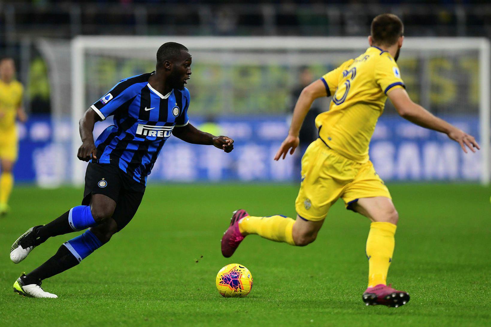 Romelu Lukaku í leik með Inter.