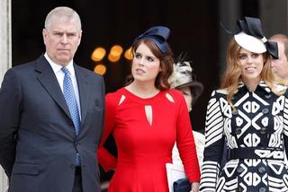 Andrés prins og dætur hans, prinsessurnar Eugenie og Beatrice.