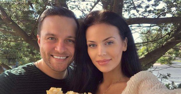 Hanna Rún og maðurinn hennar Nikita Bazev eru fallegt par.