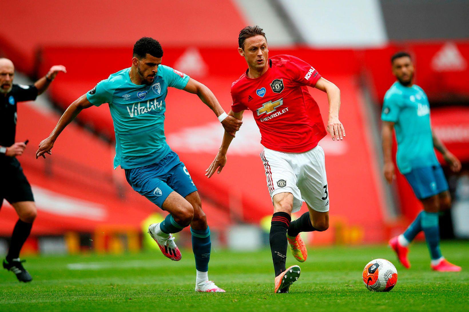 Nemanja Matic hefur framlengt samning sinn við Manchester United.