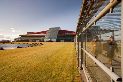 Iceland's Keflavík International Airport.