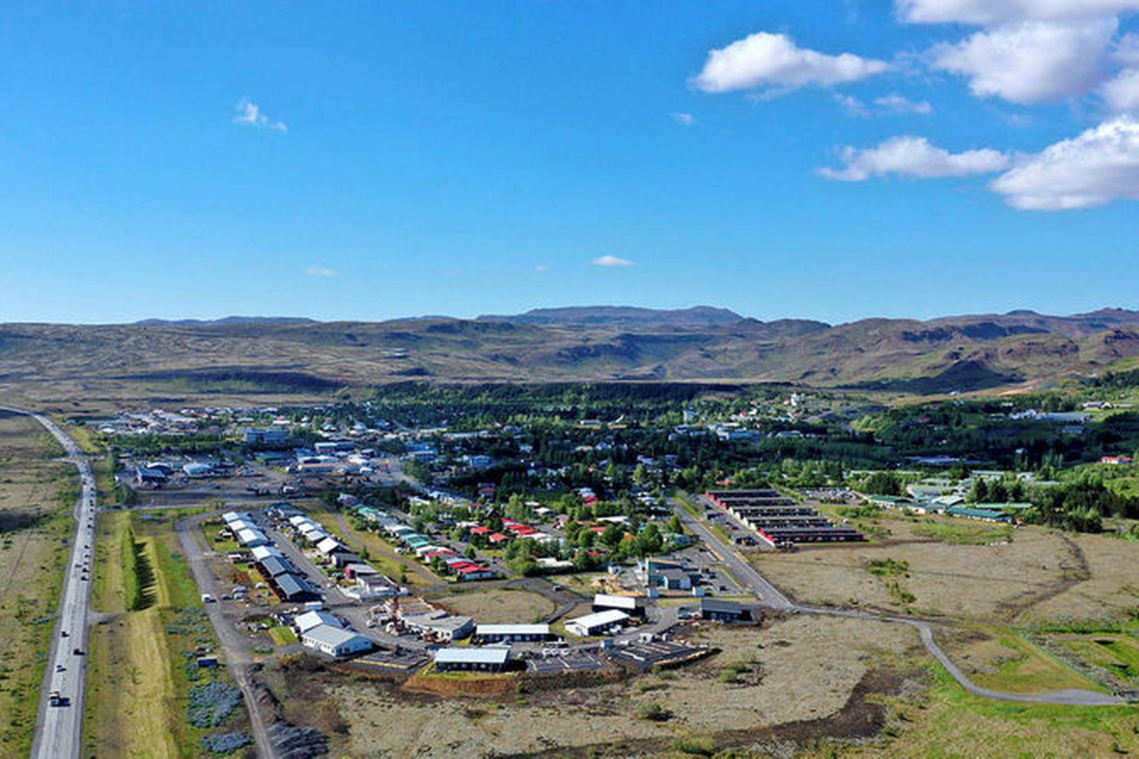Heilsustofnun í Hveragerði er stærsti atvinnurekandinn í bæjarfélaginu.