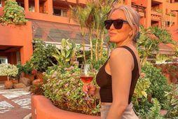 Birgitta Líf er á Tenerife.
