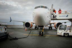 Icelandair var með sex 737 MAX-þotur í umferð hjá sér þangað til í mars síðastliðnum …