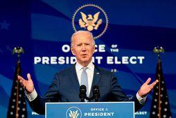 Joe Biden, tilvonandi forseti Bandaríkjanna.