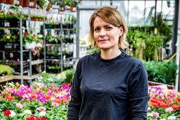Margrét Ása Karlsdóttir garðyrkjufræðingur.