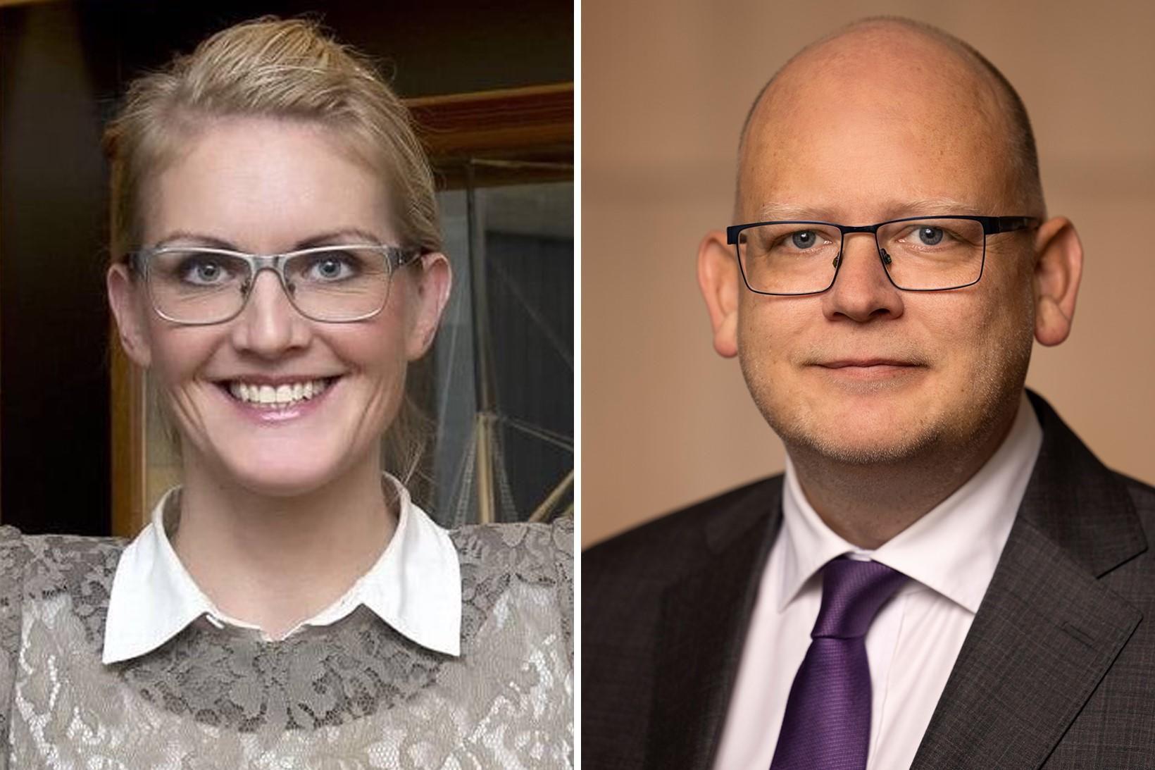 Sara Pálsdóttir og Bergsteinn Ó. Einarsson.