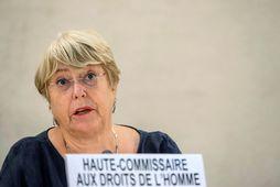 Michelle Bachelet, mannréttindafulltrúi Sameinuðu þjóðanna.