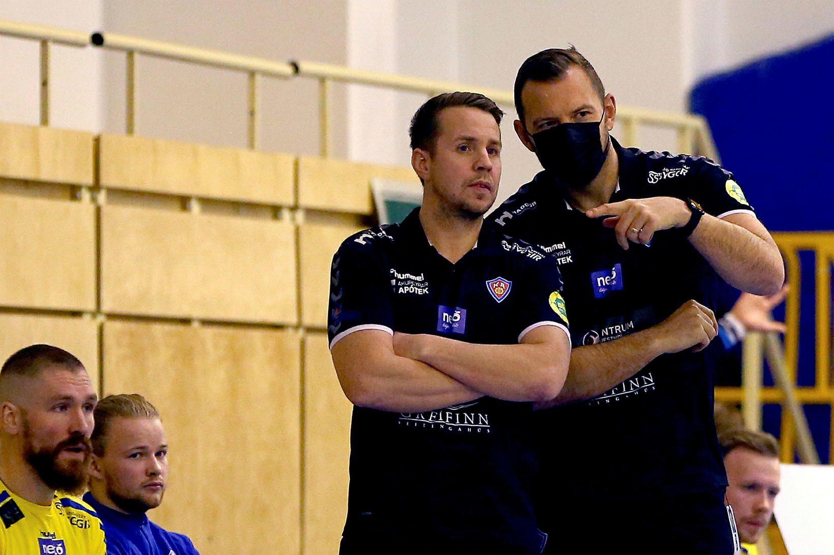 Jónatan Ingi Magnússon er þjálfari KA.
