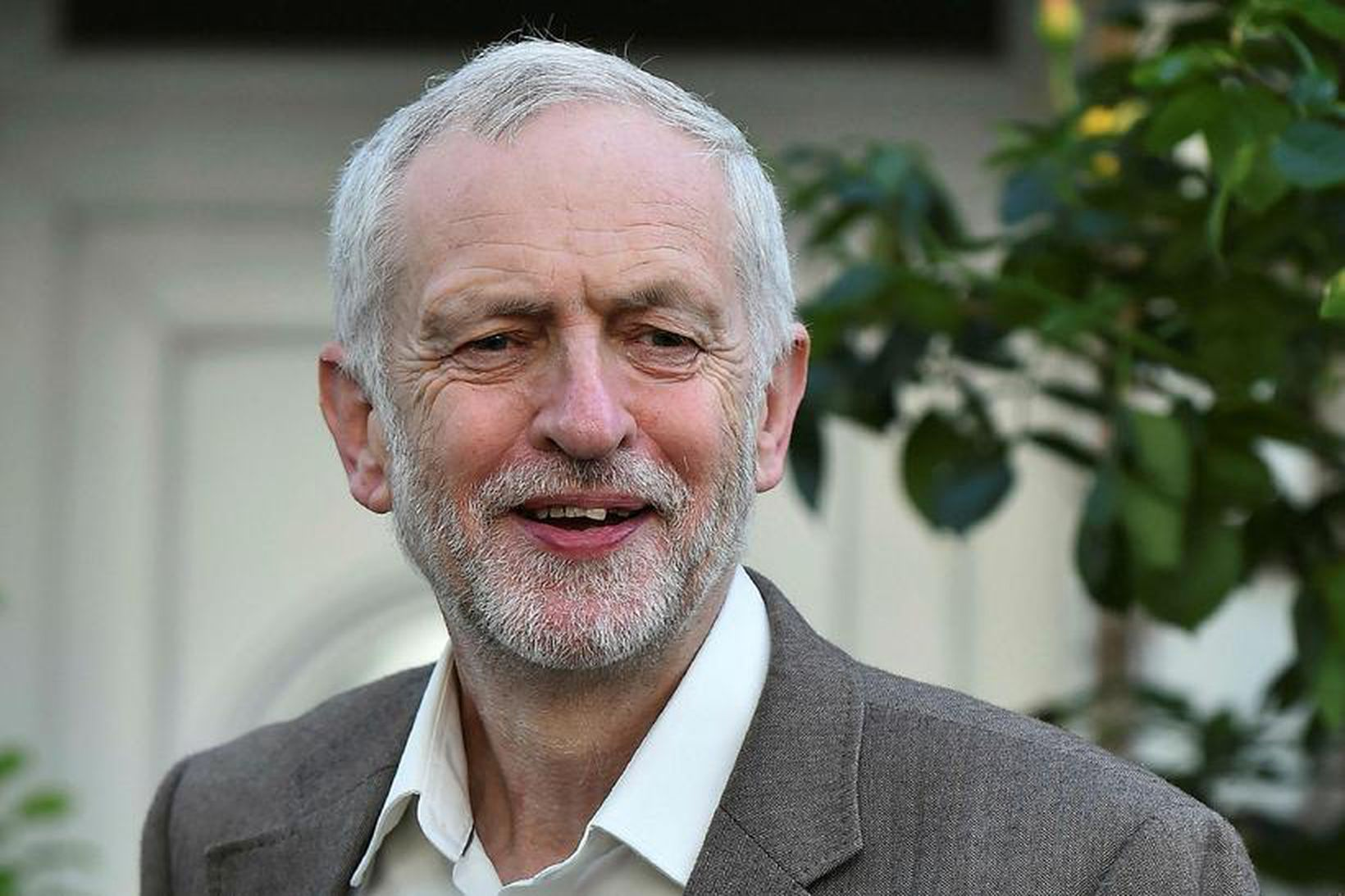 Jeremy Corbyn, leiðtogi breska Verkamannaflokksins.