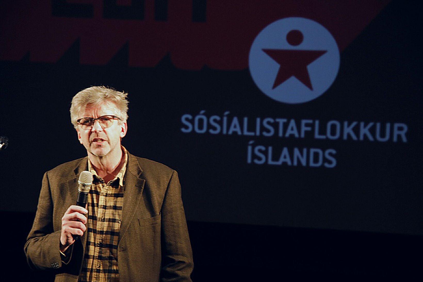 Gunnar Smári Egilsson, formaður Sósíalistaflokks Íslands.