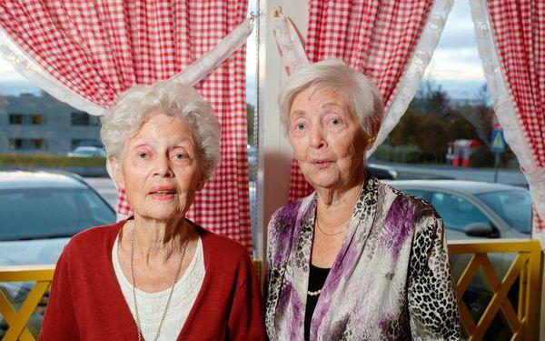 Svanhildur Snæbjörnsdóttir  and Hlaðgerður Sveinbjörnsdóttir.