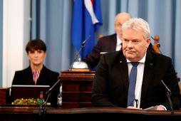 Sigurður Ingi Jóhannsson, samgöngu- og sveitarstjórnaráðherra.