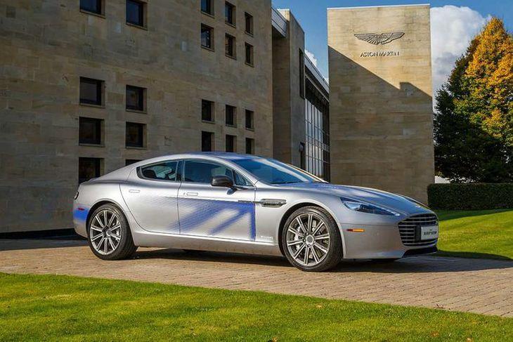 Fyrsti rafbíll Aston Martin, Rapide S.