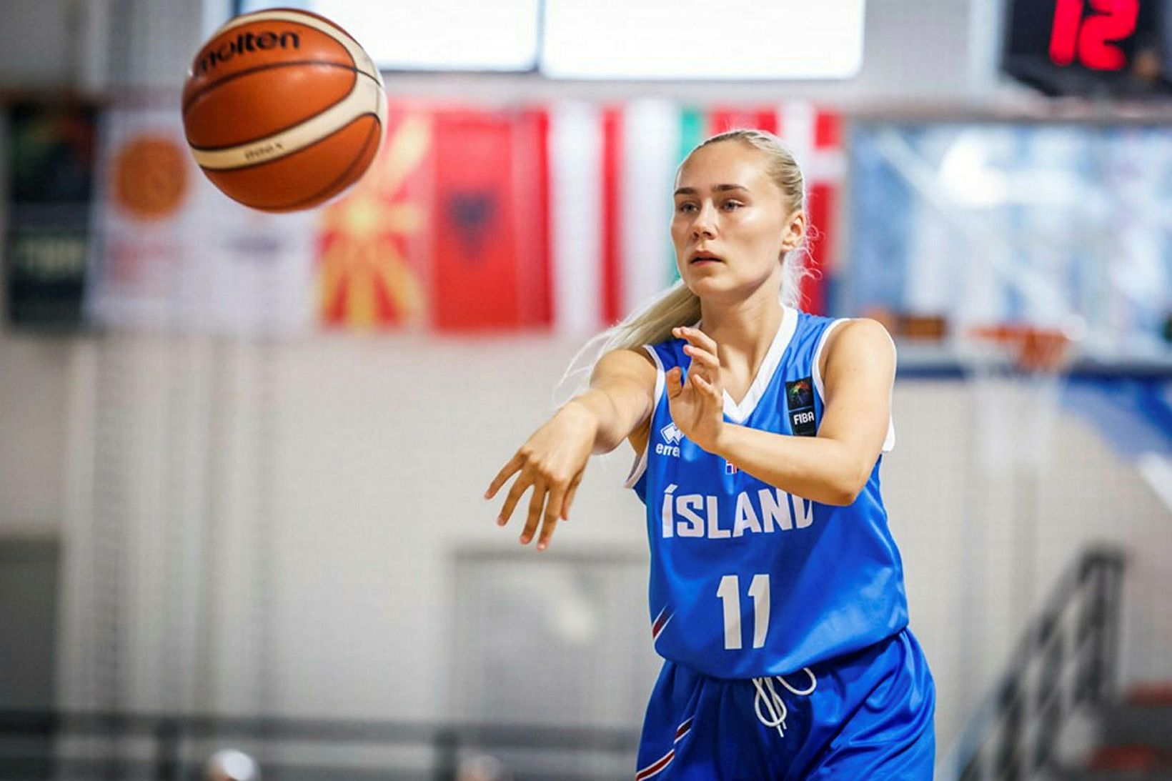 Anna Ingunn Svansdóttir átti stórleik.