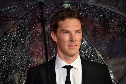 British actor Benedict Cumberbatch .