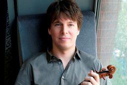 Joshua Bell verður í Hörpu á sunnudagskvöldið.