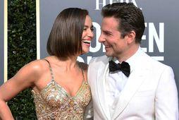 Irina Shayk og Bradley Cooper voru í óhamingjusömu sambandi.