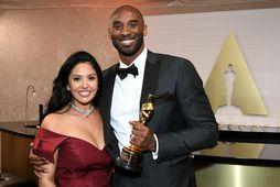 Vanessa og Kobe Bryant.
