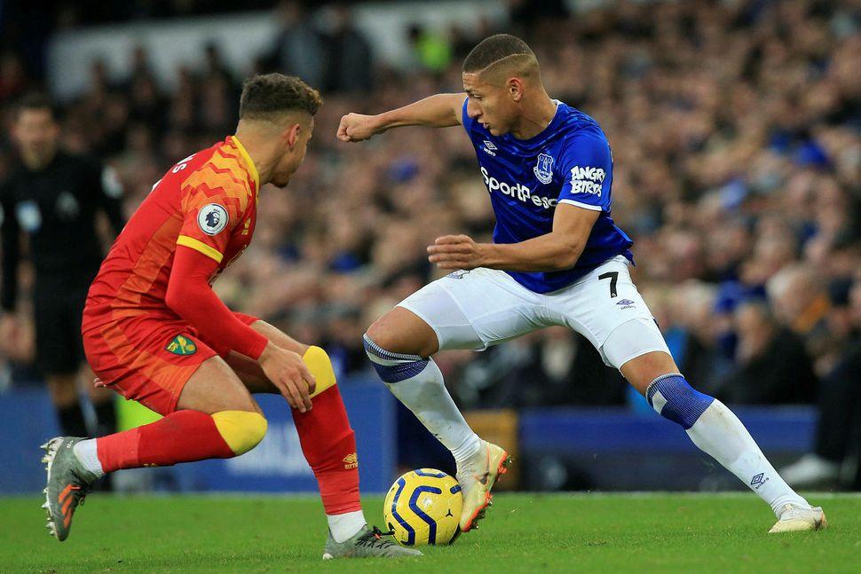Richarlison verður hjá Everton næstu árin.