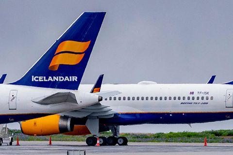 Þotur Icelandair.