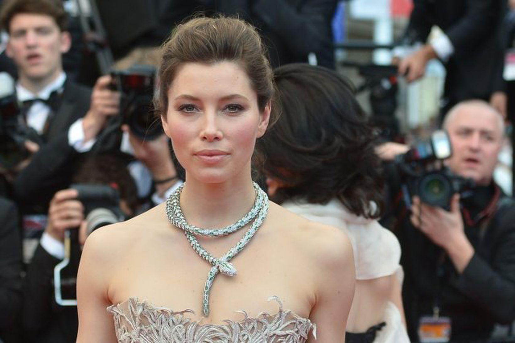 Jessica Biel á Cannes hátíðinni