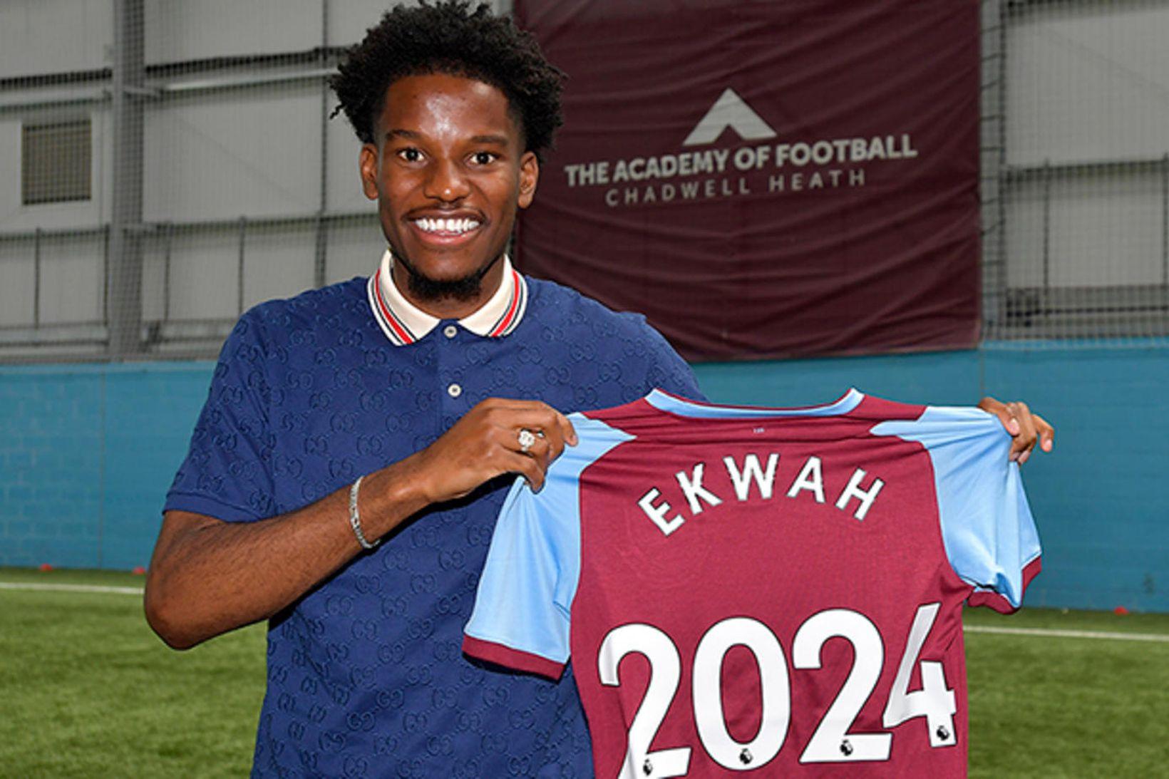 Pierre Ekwah er kominn til West Ham.