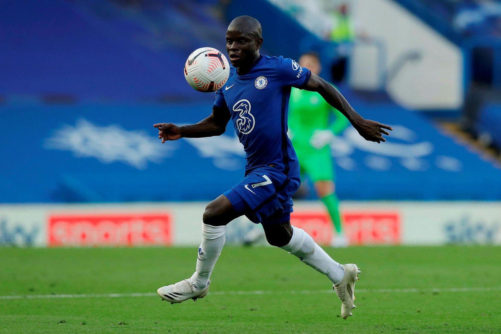 N'Golo Kanté í leik með Chelsea.